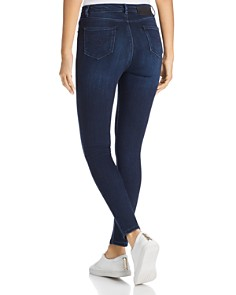 Escada - Embellished Skinny Jeans in Navy