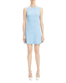 a29fad9e494 Theory - Helaina Wool-Blend Shift Dress ...