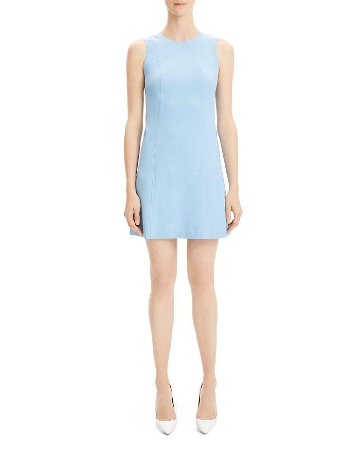 53c208da5e8a Theory Helaina Wool-Blend Shift Dress | Bloomingdale's