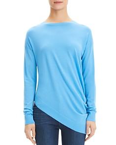Theory - Asymmetric Wool Sweater