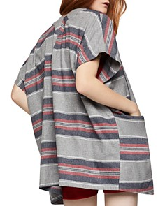 BCBGeneration - Striped Flannel Cardigan