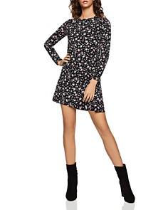 BCBGeneration - Wild Flower Jersey A-Line Dress