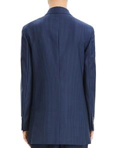 Theory - Striped Wool Blazer