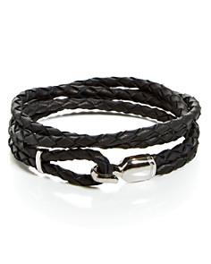MIANSAI - Silver Trice Triple-Wrap Bracelet