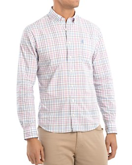 Johnnie-O - Dawson Plaid Regular Fit Button-Down Sport Shirt