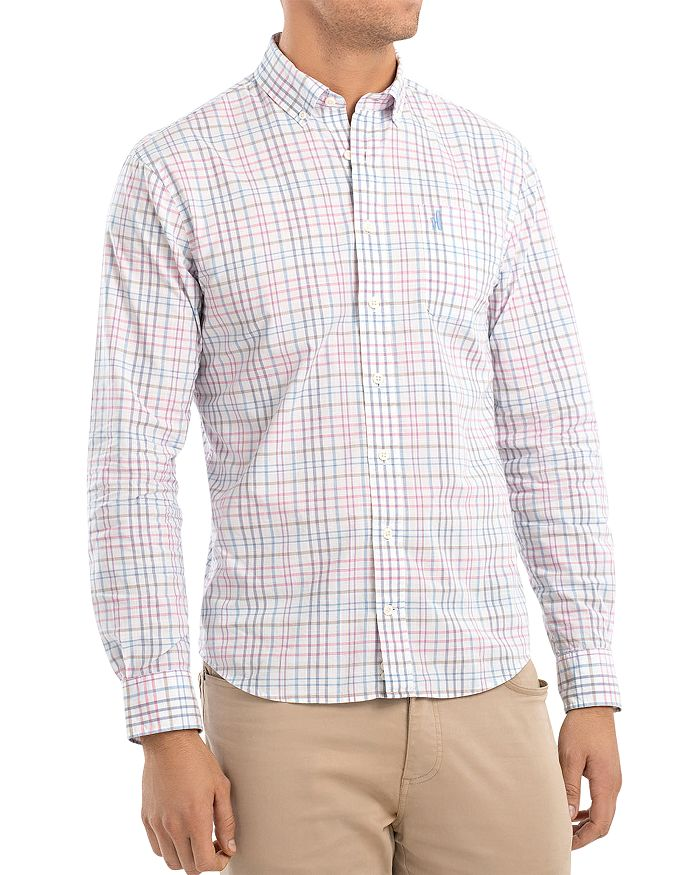 Johnnie-O - Dawson Plaid Regular Fit Button-Down Sport Shirt