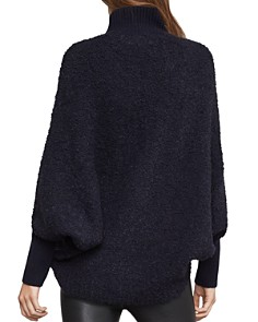BCBGMAXAZRIA - High-Low Turtleneck Sweater