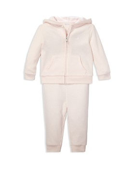 Ralph Lauren - Girls' French Terry Hoodie & Pants Set - Baby