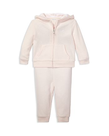 Ralph Lauren - Girls' French Terry Hoodie & Pants Set - Baby
