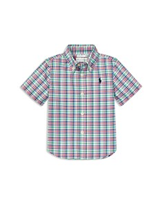 Ralph Lauren - Boys' Plaid Stretch Poplin Shirt - Baby