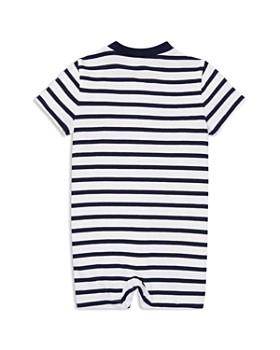 688c75ca9 ... Ralph Lauren - Boys  Striped Cotton Jersey Shortall - Baby