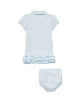 Ralph Lauren - Girls' Ruffled Polo Dress & Bloomers Set - Baby