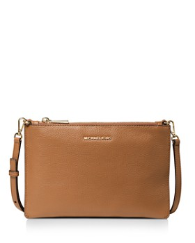 MICHAEL Michael Kors - Large Double Pouch Leather Crossbody