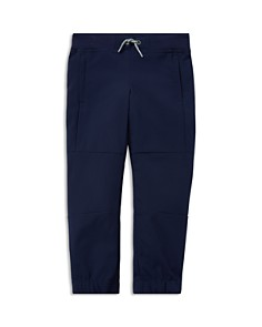 Ralph Lauren - Boys' Stretch-Poplin Mesh Jogger Pants - Little Kid