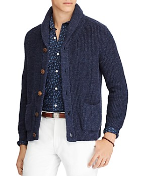 a5c314f1f19b7 Polo Ralph Lauren - Yale Shawl-Collar Cardigan - 100% Exclusive ...