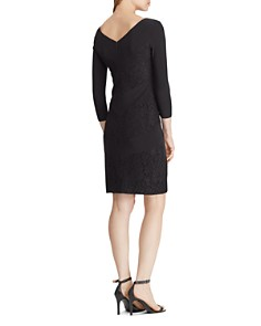 Ralph Lauren - Lace-Trimmed Dress
