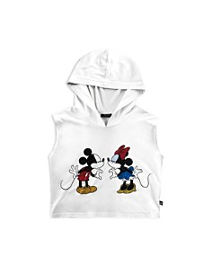 Terez - Girls' Disney Mickey Mouse & Minnie Mouse Hooded Tank - Little Kid