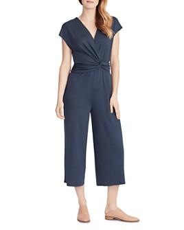Ella Moss - Addison Cropped Knot-Detail Jumpsuit