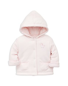 Little Me - Girls' Zebra Reversible Jacket - Baby