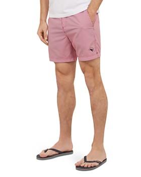 Ted Baker - Seel Stripe Print Swim Shorts