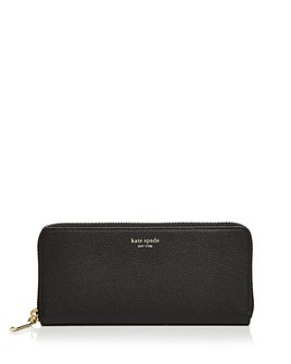 kate spade new york - Slim Leather Continental Wallet