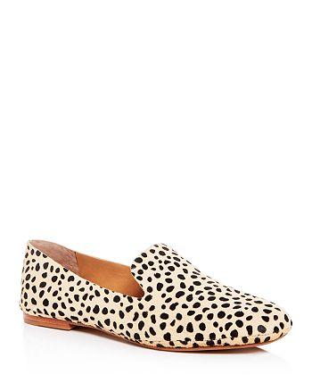 Dolce Vita - Women's Wynter Leopard Print Calf Hair Smoking Slippers