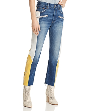Levi's Jeans 501 MOTO STRAIGHT JEANS IN SHOW TEETH