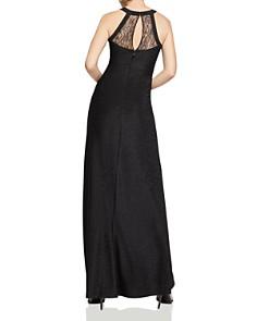 BCBGENERATION - Sleeveless Lace-Inset Maxi Dress