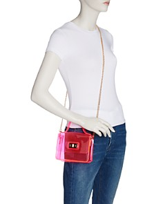 AQUA - Mini Turn-Lock Shoulder Bag - 100% Exclusive
