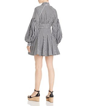 Acler - Lella Gingham Mini Dress