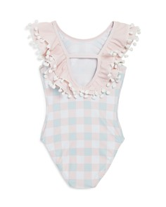 Livly -  Girls' Celine Plaid One-Piece Swimsuit