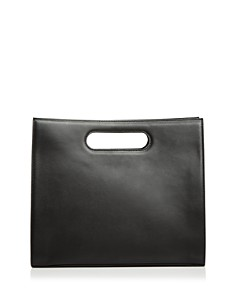 Tammy & Benjamin - Leather Tote with Cutout Handles
