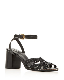 See by Chloé - Women's Strappy Block-Heel Sandals