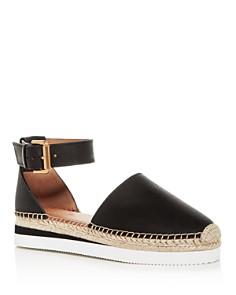See by Chloé - Women's Ankle-Strap Platform Espadrilles