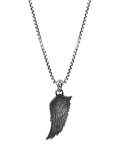 JOHN HARDY - Sterling Silver Legends Eagle Large Wing Pendant Necklace, 24""