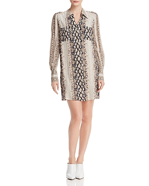 Joie Dresses TALMA SNAKE PRINT SHIRT DRESS