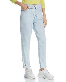 Pistola - Fold-Over Relaxed Straight-Leg Jeans in Crush - 100% Exclusive