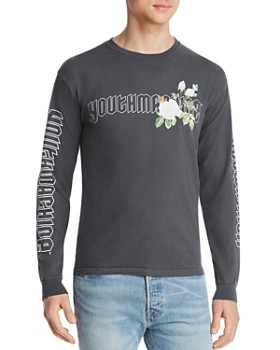 Youth Machine - Secret Garden Long-Sleeve Graphic Tee