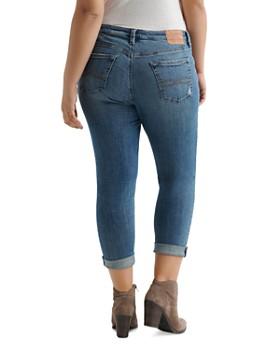 Lucky Brand Plus - Reese Boyfriend Skinny Jeans in Azure Bay