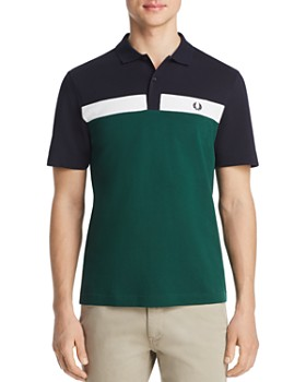 Fred Perry - Color-Block Piqué Classic Fit Polo Shirt