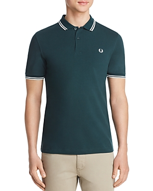 Fred Perry Tops TWIN TIPPED SLIM FIT POLO