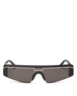 Balenciaga - Women's Rectangular Shield Sunglasses, 99mm