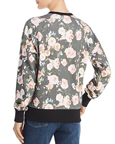 Rebecca Minkoff - Jennings Love & Roses Graphic Sweatshirt