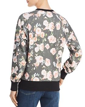 Rebecca Minkoff - Jennings Love & Roses Graphic Sweatshirt