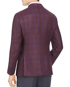 Armani - Emporio Armani Checked Regular Fit Tailored Jacket