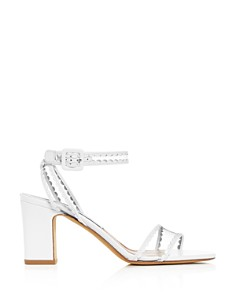 Tabitha Simmons - Women's Leticia Scallop Trim High-Heel Sandals