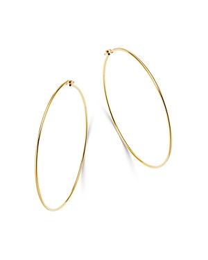 Moon & Meadow 14K Yellow Gold Large Thin Hoop Earrings - 100% Exclusive
