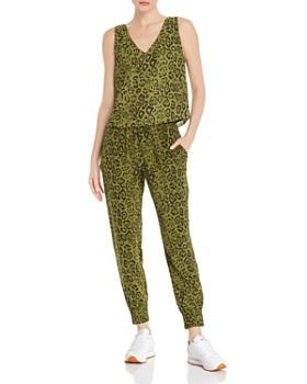 ef53ad8d135f AQUA - Leopard Print Cropped Top   Jogger Pants - 100% Exclusives