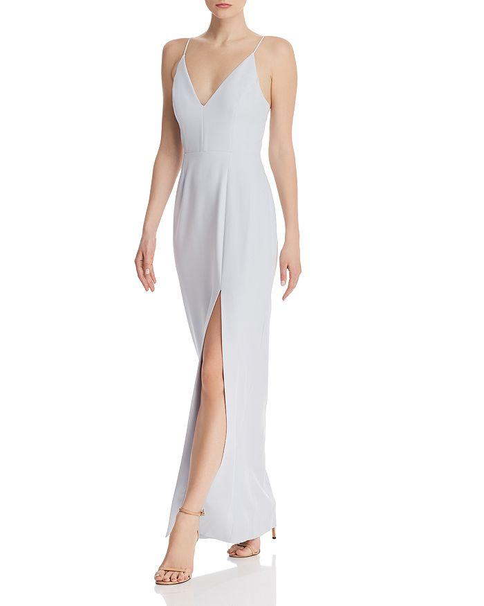 WAYF - Maisle Plunging Slip Maxi Dress