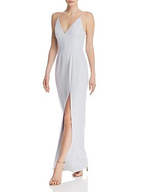 Wayf Dresses MAISLE PLUNGING SLIP MAXI DRESS